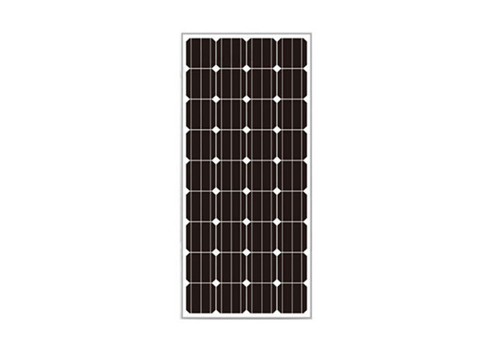 Professional 145W Monocrystalline Silicon Pv Panels High Transmission Tempered Glass