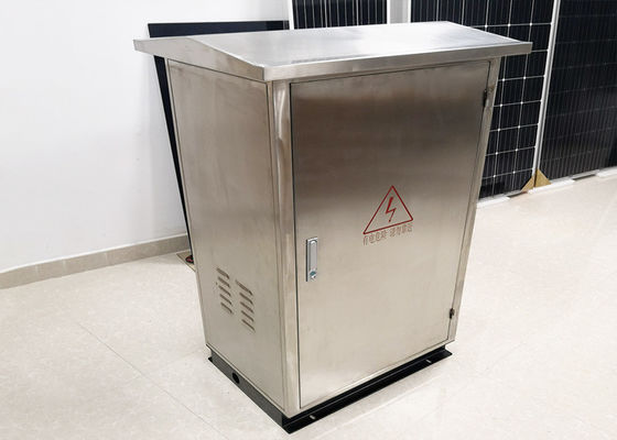 Powder Coating Off Grid Power Distribution Cabinet Stainless Steel Outdoor