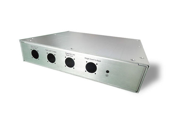 China Outdoor Indoor Distribution Cabinets Control Box Customized 1.5-3mm Plate Thickness factory