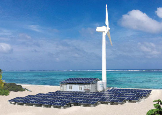 New Energy Seawater Desalination System of Off Grid Solar Power Systems